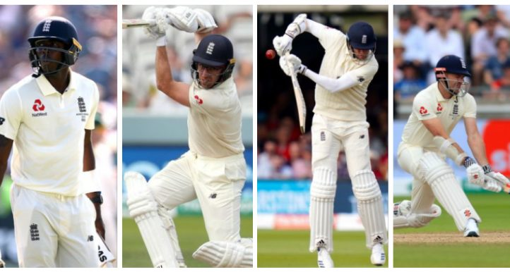 Jofra Archer Jack Leach Stuart Broad James Anderson England tail PA