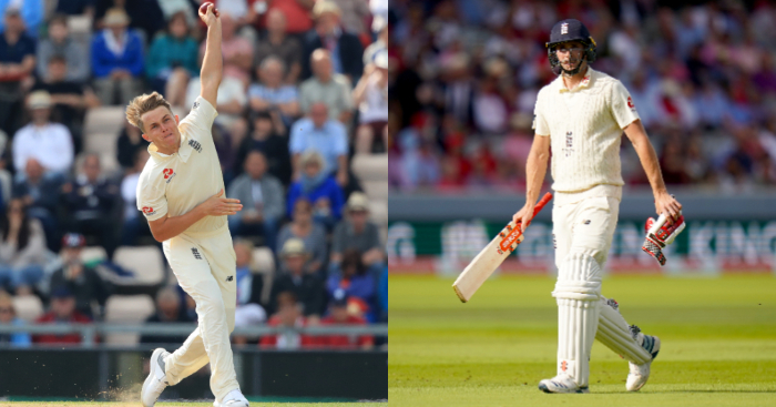 Sam Curran Chris Woakes