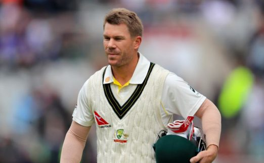 David Warner Australia Ashes Old Trafford PA