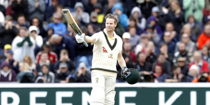 Steve Smith hundred Ashes Old Trafford PA