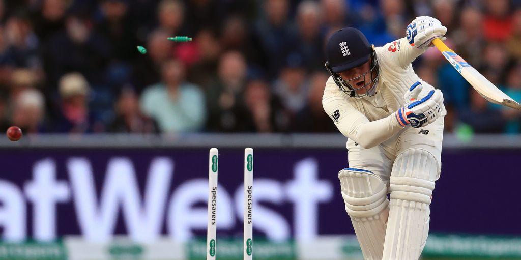 Jason Roy bowled Josh Hazlewood Ashes Old Trafford England Australia PA