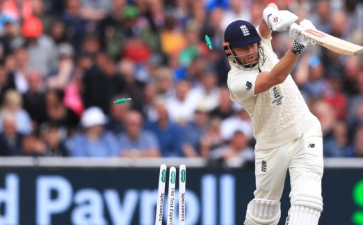 Jonny Bairstow bowled Mitchell Starc England Australia Ashes Old Trafford PA