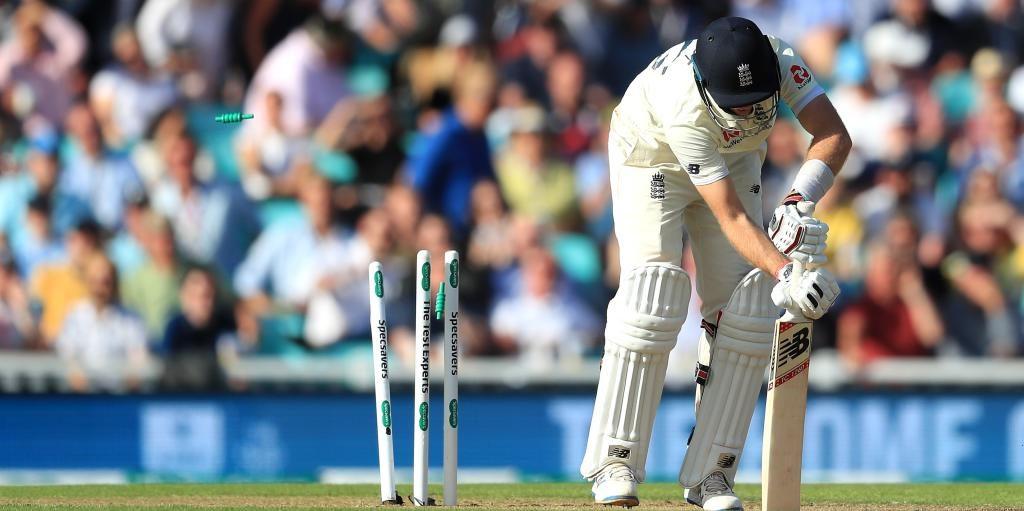 Joe Root out England Australia The Oval PA