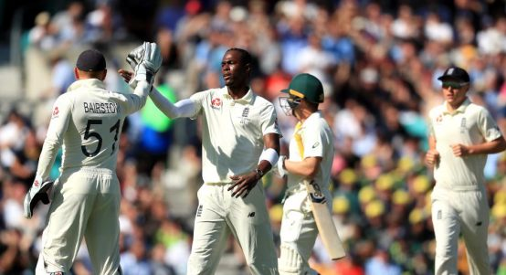 Jofra Archer England Australia The Ashes Oval PA