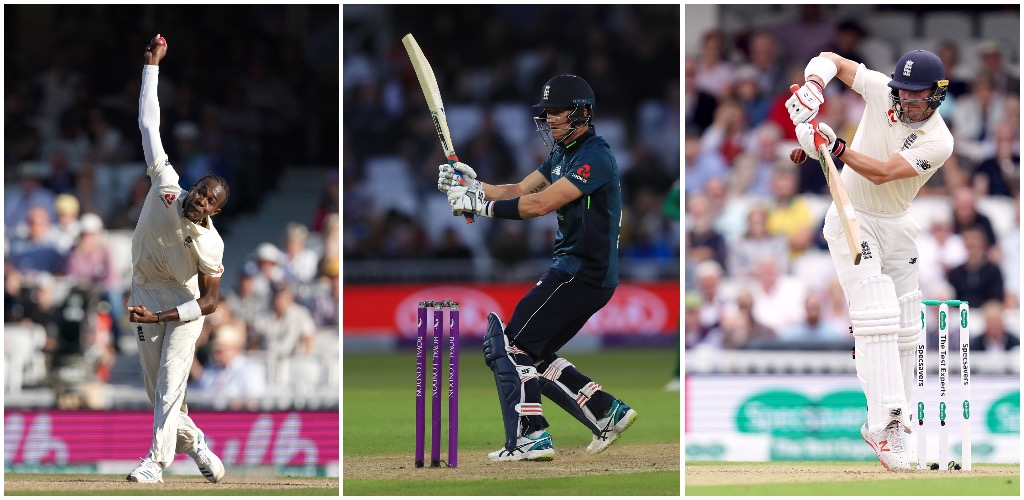 Archer, Burns and Denly earn central contracts for England