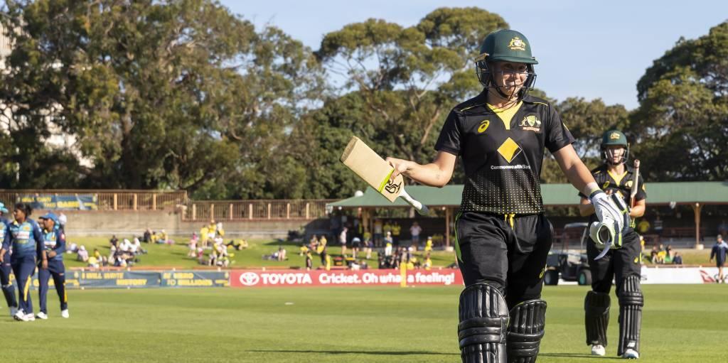 Alyssa Healy world record Australia Sri Lanka PA
