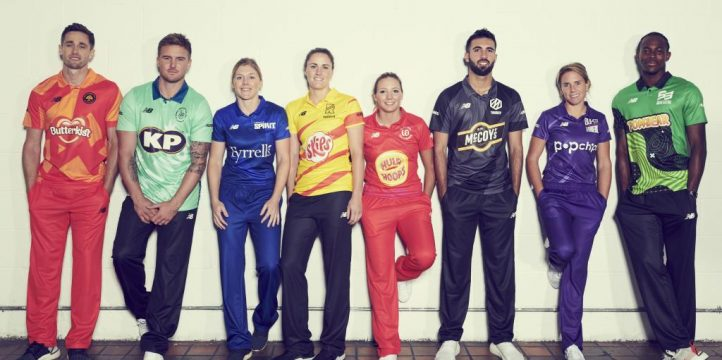 The Hundred kits launch