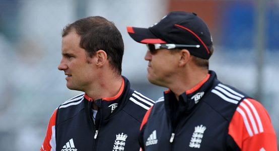 Andrew Strauss and Andy Flower