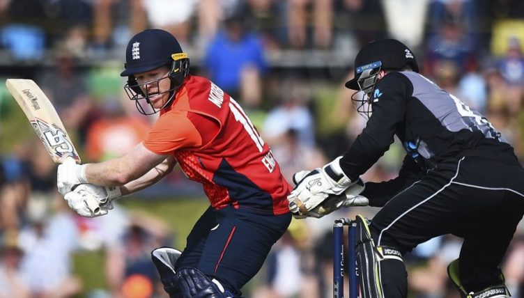Eoin Morgan New Zealand England third T20I PA