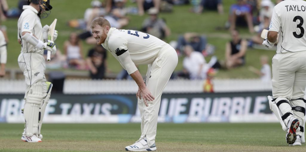 Ben Stokes injured England New Zealand PA