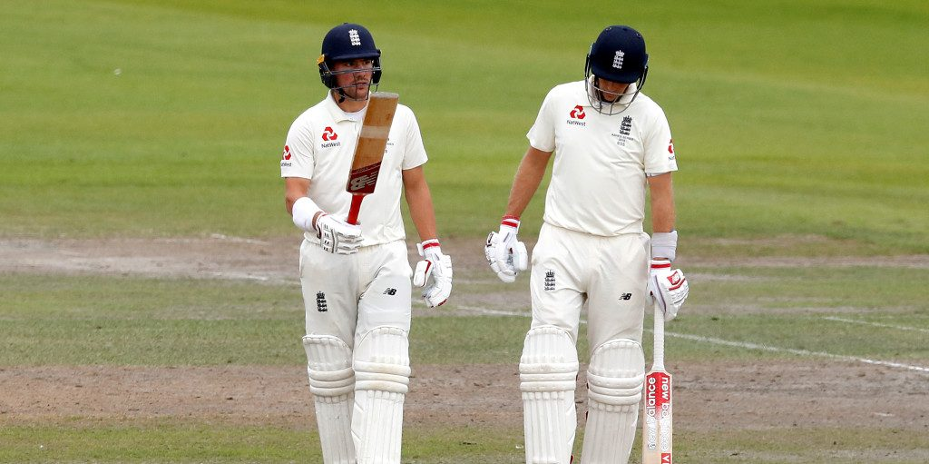 Rory Burns Joe Root England PA