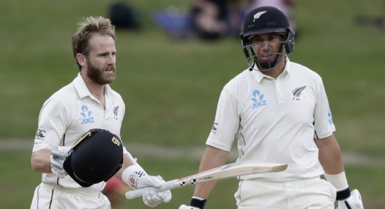 Kane Williamson century New Zealand England PA