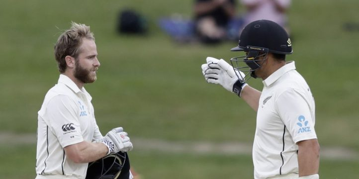 Kane Williamson Ross Taylor New Zealand England PA