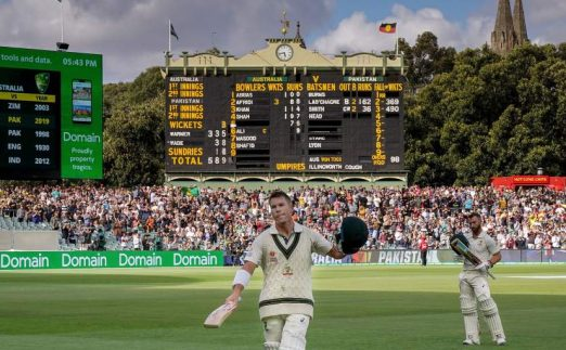David Warner 335 not out Australia Pakistan PA