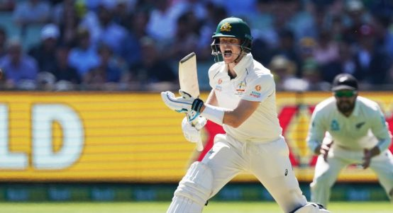 Steve Smith Australia New Zealand Boxing Day Test PA