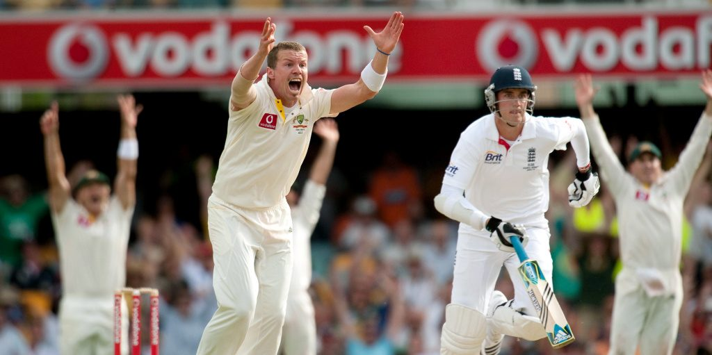 Peter Siddle Hattrick Australia England PA