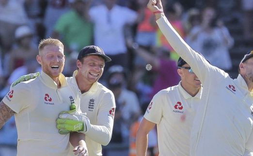 Ben Stokes Joe Root England South Africa Cape Town PA