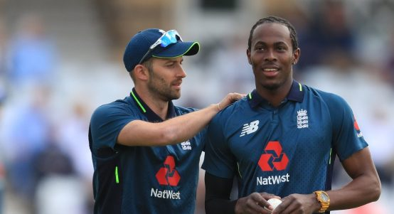 Mark Wood Jofra Archer England PA