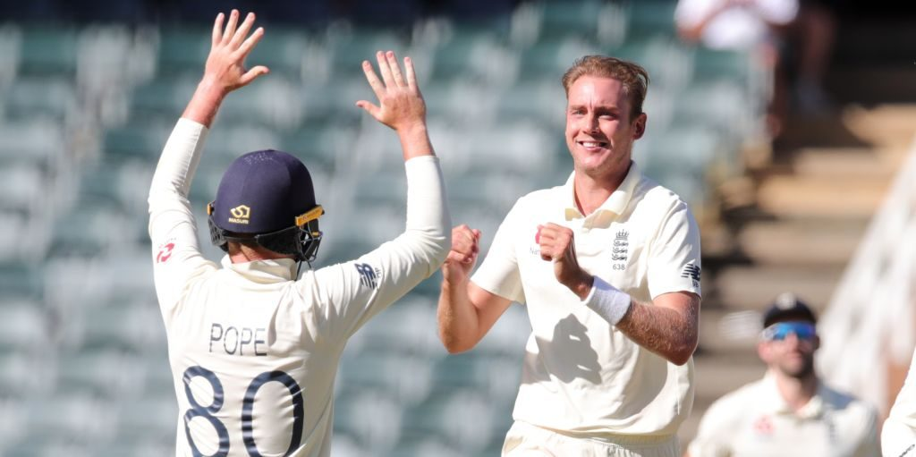 Stuart Broad England South Africa PA