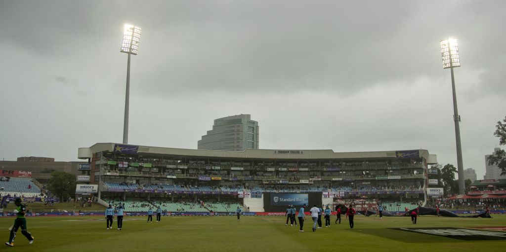 England South Africa 2nd ODI rain