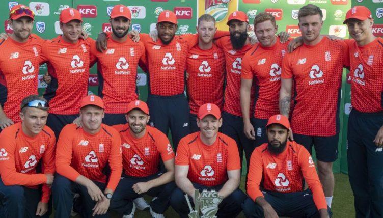 Eoin Morgan England team South Africa T20