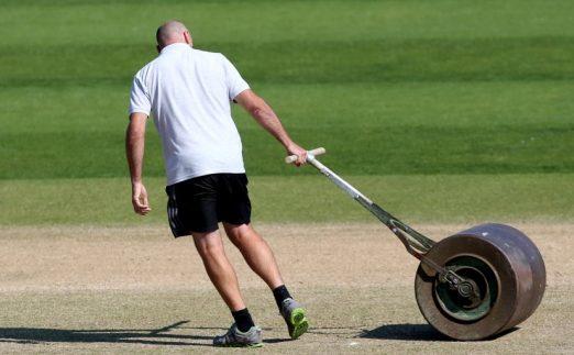 Cricket groundsman