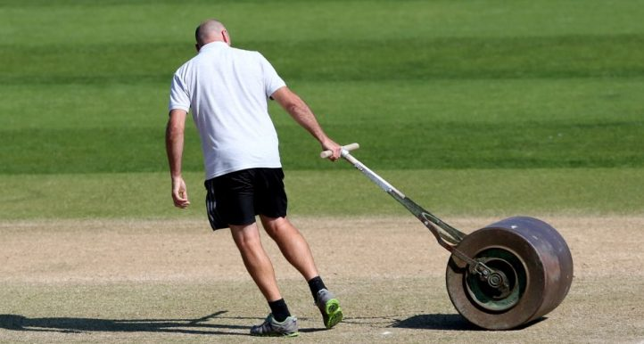 Cricket groundsman
