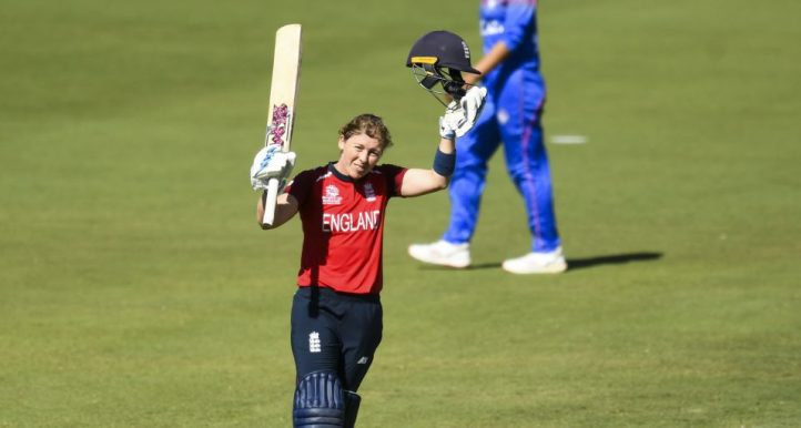 Heather Knight 100 England Thailand