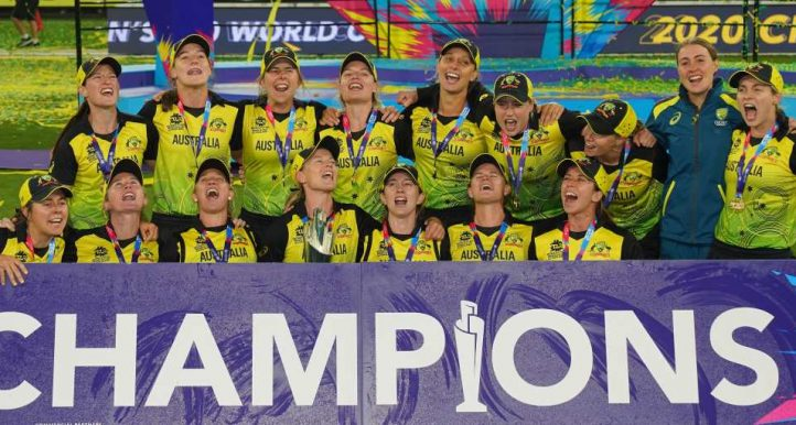 Australia win Women's T20 World Cup