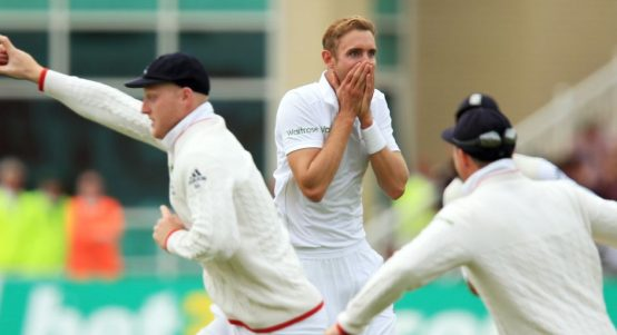 Stuart Broad Broadface Trent Bridge 2015 Ashes