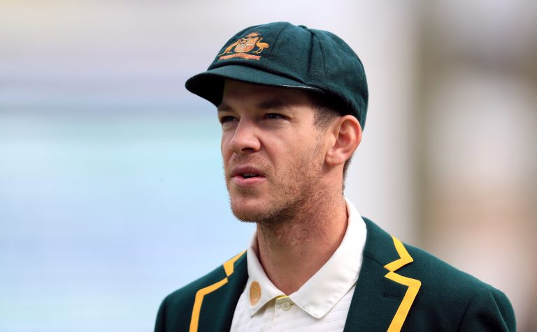 Tim Paine stepped up to captain the Australian Test team in the aftermath of the ball-tampering scandal