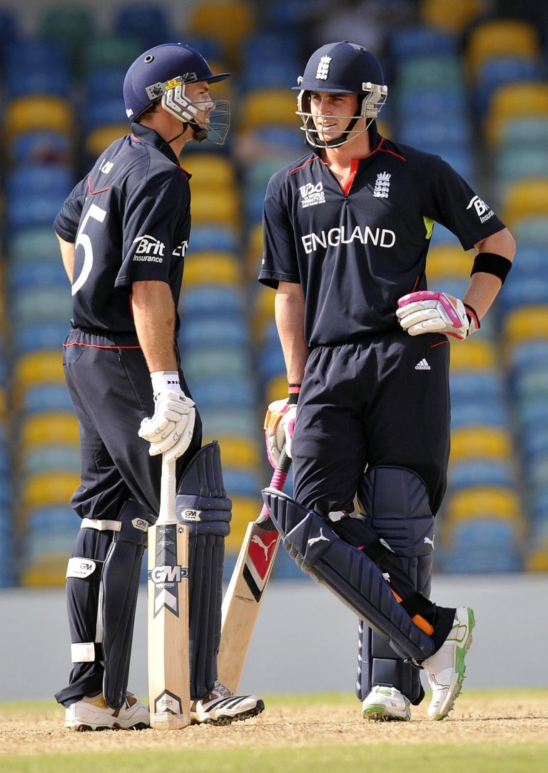 Michael Lumb (left) and Craig Kieswetter (right) benefited from a similar idea 10 years ago.