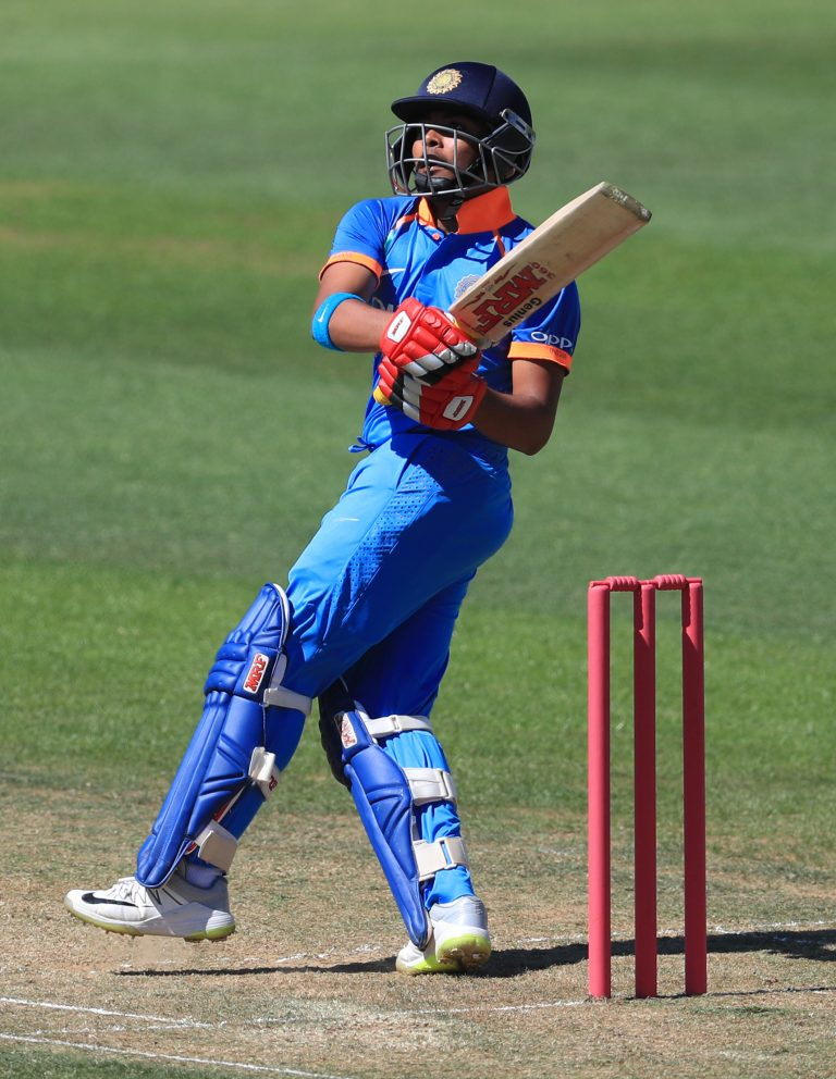 Prithvi Shaw is now a senior India international