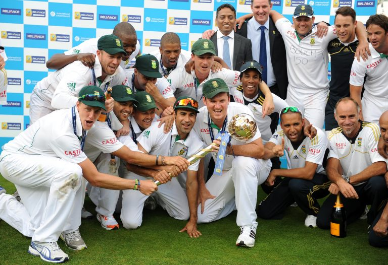 South Africa overcame England in the summer of 2012 to go top of the Test rankings (Nigel French/PA)