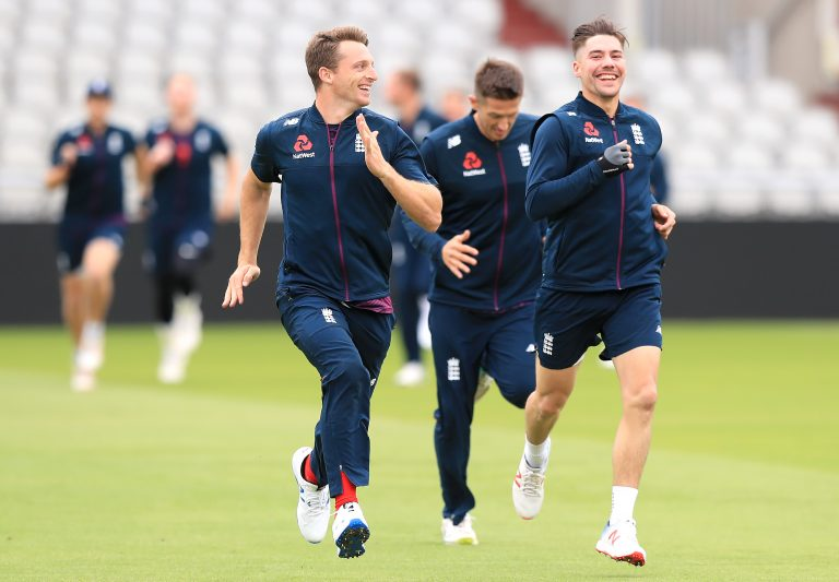 England Nets Session – Day One – Old Trafford
