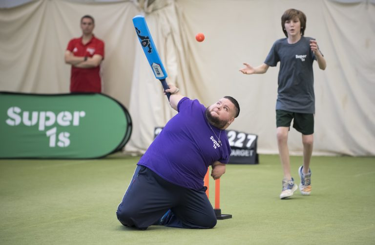 Lord's Taverners lay on activities for disabled and disadvantaged youngsters.