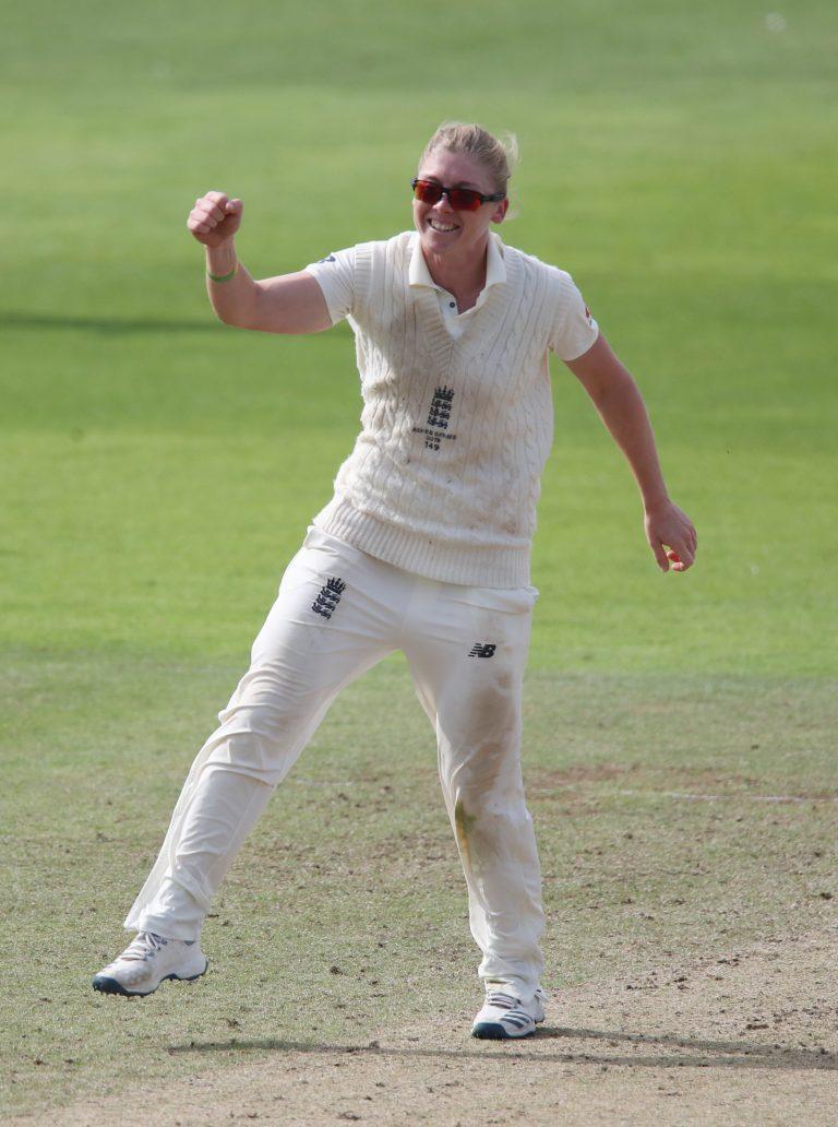 England Women v Australia Women – Women's Ashes Test – Day Four – Cooper Associates County Ground
