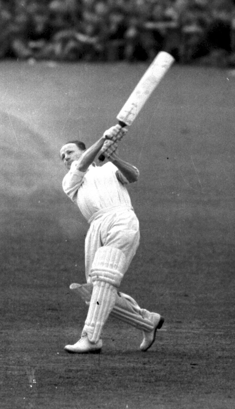 Sir Donald Bradman gatecrashed an all-English list.