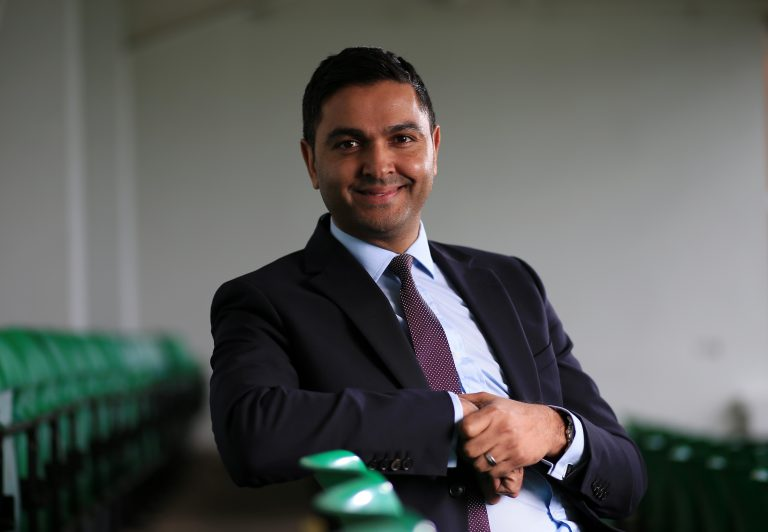 Pakistan Cricket Board CEO, Wasim Khan.
