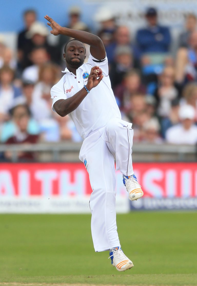 Kemar Roach in action