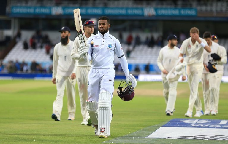 Shai Hope made twin hundreds at Headingley three years ago (Nigel French/PA)