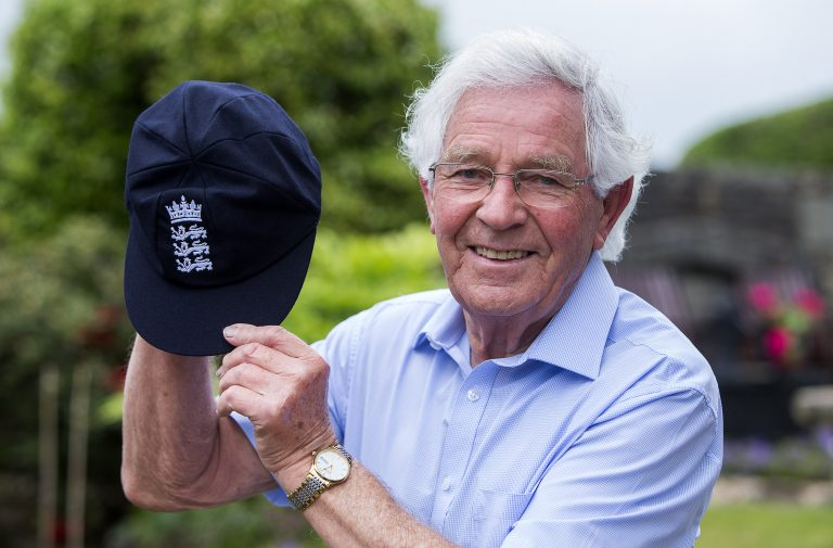 Alan Jones has been formally awarded his England Test cap.