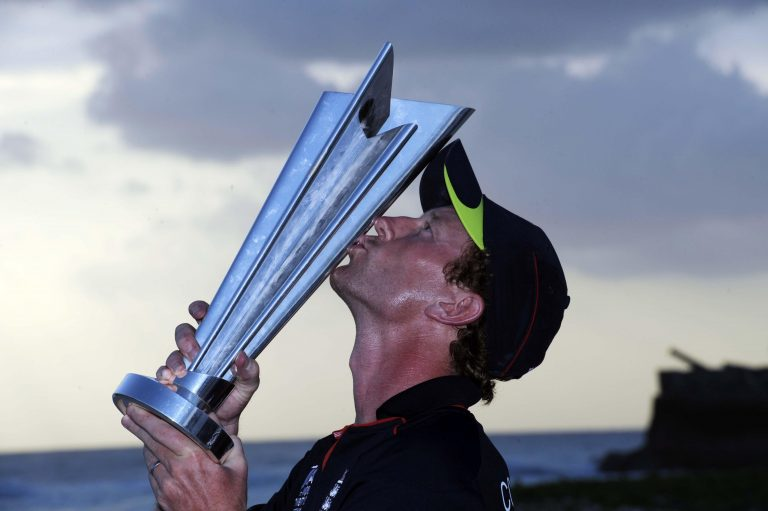 While Paul Collingwood's stint at the helm of the ODI side was unremarkable, he led England to World Twenty20 glory in 2010 (Rebecca Naden/PA)