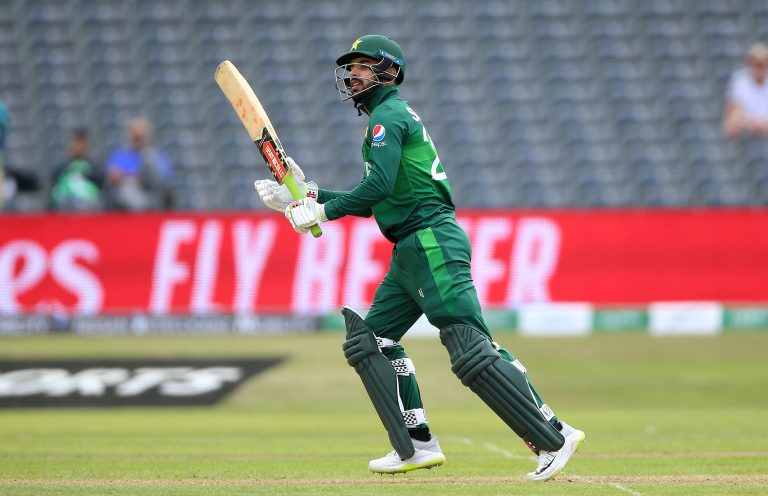 Shadab Khan is one of three Pakistan players to test positive for COVID-19.