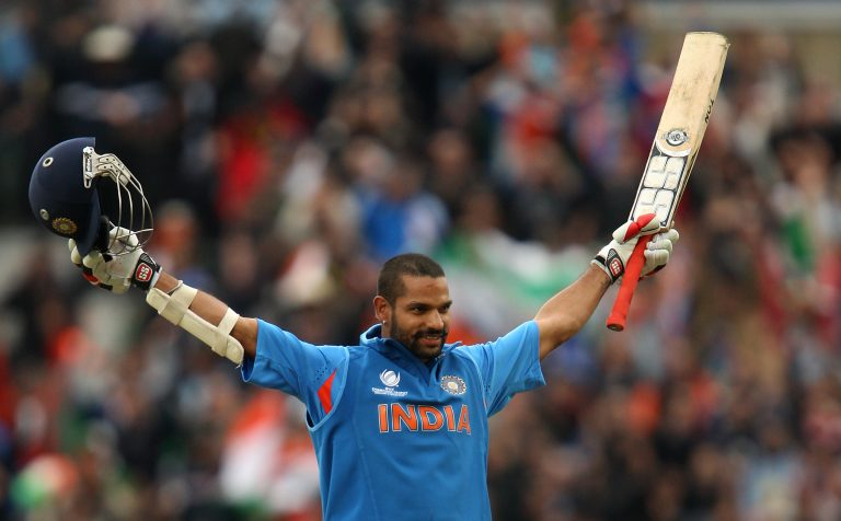 Shikhar Dhawan hit two of the tournament's three centuries