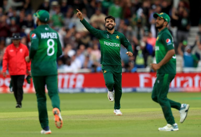 Pakistan's Shadab Khan was one of the players who tested positive for Covid-19