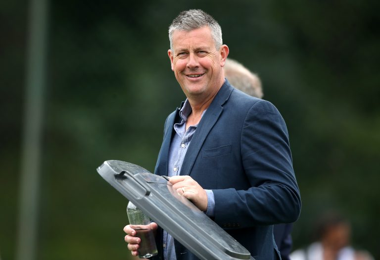 Ashley Giles is preparing for England to face West Indies