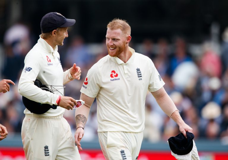 Stokes (right) is ready to step in if Joe Root (left) misses the first Test.