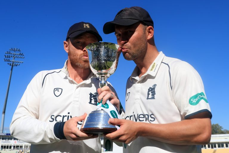 Ian Bell, left, has won six domestic trophies with Warwickshire (Simon Cooper/PA)