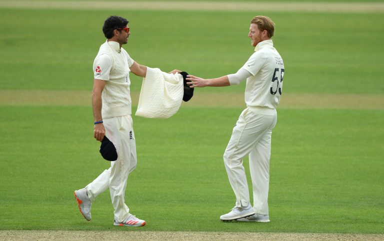 Ben Stokes (right) will captain England in the first Test against the West Indies